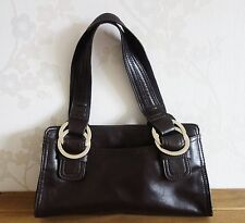 Next Handbag Dark Brown Medium Sized W-29cm H-16cm