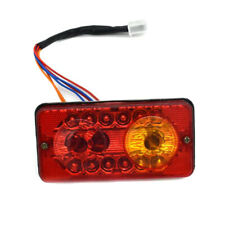 12V DC LED Rear Tail Lights Brake Turn Signal Reverse Lamp For Electric-Tricycle