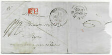 France 1835 PP entire Tourcoing->Rye Sussex GB via Dover postmark