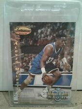 1995 Ted Williams Royal Court #7 Alonzo Mourning HOF Center Miami Heat