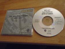 RARE PROMO Red Hot Chili Peppers CD Give It Away JOHN FRUSCIANTE mars volta FLEA