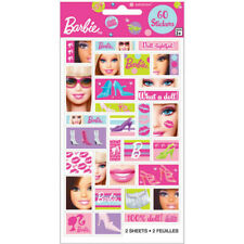 BARBIE 60 Stickers Party Favours Loot Lolly Bag Birthday Kids Children