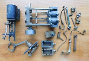 Asst Vintage Model Steam Train & Engine Parts and Fittings Bulk Lot!