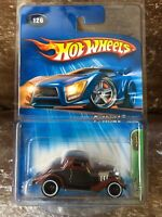 2005 Hot Wheels Treasure Hunts T Hunt 34 3 WINDOW brown black No. 126