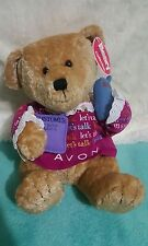 "Let'S Talk Avon * Gabbigail * Teddy Bear Vintage Plush w/tag Beary 11"" (129)"