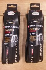 Hutchinson Fusion 3 Folding Tyres Pair Black 700 x 23c