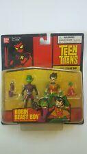 "2003 Bandai DC Teen Titans Go! 3.5"" Action Figure Robin & Beast Boy #12381"