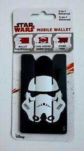 STAR WARS Mobile Wallet Stormtrooper ~ Disney ~ Brand New, Sealed!