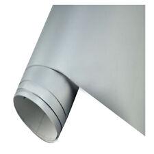 Silber Auto Folie matt breit BLASENFREI selbstklebend Klebe Folie 50x152cm S8H7
