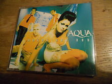AQUA ROSES ARE RED 1996 RARE 7 TRACKS CD PICTURE DISC CD DEBUT EARLY MCA RECORDS