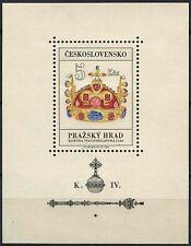 Tchécoslovaquie 1966 SG #MS 1574 Château de Prague neuf sans charnière m / s #D 3413