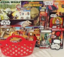 NEW STAR WARS EASTER TOY GIFT BASKET MICRO MACHINES FIGURE TOYS play set