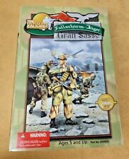 THE ULTIMATE SOLDIER WWII FALLSCHIRM-JAGER GRAN SASSO ACTION FIGURE 2000 NIP