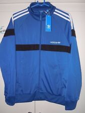 Adidas Originals Itasca Track Top Veste BNWT Bleu Medium pour Homme