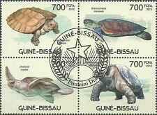 Timbres Reptiles Tortues Guinée Bissau 4310/3 o année 2012 lot 21436 - cote :15€