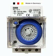 Euro Analog Timer programmable Time Switch 24 hour German Sul181h Controller