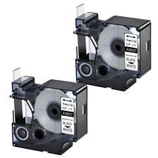 2pk For Dymo Rhino 42005200 Heat Shrink Tube 18057 Industry Label Tape 34 X5