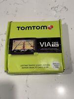 TomTom VIA 1405TM 4.3 Inch Portable GPS Navigator with Lifetime Traffic & Maps