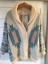 Vintage HILDA Ltd LAINE WOOL Sweater Iceland Women's Ladies Large Jacket