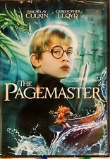 1994 The Pagemaster Macaulay Lloyd Family Children Fantasy Comedy NEW DVD