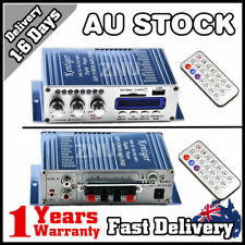 Mini 12V Audio Stereo Amplifier AMP For Ipod Car Home FM Radio MP3 USB SD MIC