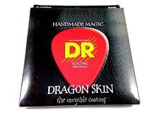 DR Bass Guitar Strings Dragon Skin 5 String 45-125 Invisible Coating Medium