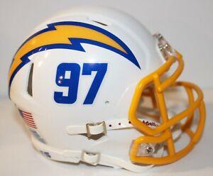 2020 Los Angeles Chargers Custom Alternate #1 Riddell Mini Helmet