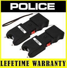 Police Stun Gun Tw10 16 BV Heavy Duty LED Light Siren Alarm Rechargeable 3pcs