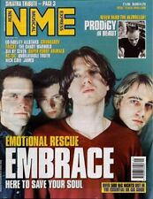 Embrace Prodigy AC/DC Furry Tricky James Nick Cave Super Furry Animals Dandy mag