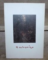 Barbarigo, les sphynges, les persécuteurs (sept-oct 1994) catalogue expo