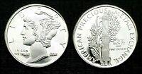 Mercury Dime & Axe (GSM)  1/10 oz. Fine Silver Bullion Round!!