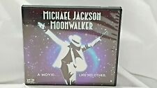 Rare Michael Jackson MoonWalker VCD 2005 two disc set Used.