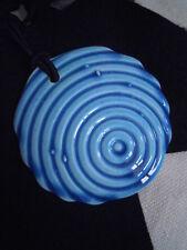 ARAGO DESIGN ciondolo in ceramica fatto a mano CIRCLE