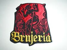 BRUJERIA IRON ON EMBROIDERED PATCH