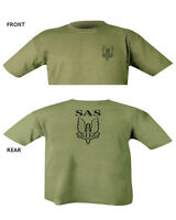 SAS T Shirt Double Print Military special air service