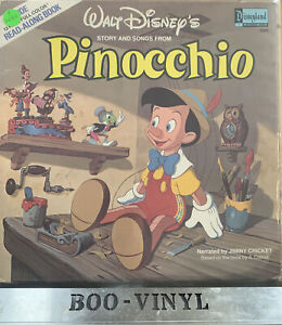 Jiminy Cricket - Walt Disney's Story Of Pinocchio Rare Vinyl Lp Record EX / VG+