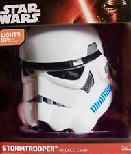 STORMTROOPER 3D Wall Light Star Wars Storm Trooper DECO Night Light NEW