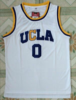 Russell Westbrook #0 UCLA College Bruins Men Basketball Jersey White Stitched