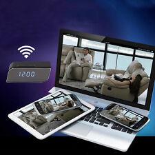 Full HD Tischuhr Kamera Wecker Nachtsicht Versteckte Kamera Überwachung Cam DVR