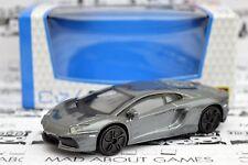 LAMBORGHINI AVENTADOR 1:43 Model Diecast Models Die Cast Metal Car Toy Grey