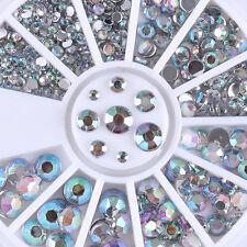 Nagel Glitzersteine Acryl UV Gel Straßsteine Nageldesign Nail Art Dekoration