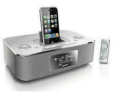 Philips DC290/37 Aluminum Docking Clock Radio for iPod iPhone