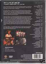 rare DVD STATUS QUO anniversary waltz ROLL OVER LAIY DOWN in the army now EXTRAS