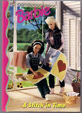 1998 - Barbie'S children's Book - A Stitch in Time !