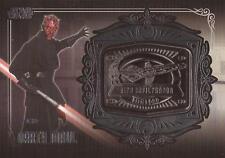 "Star Wars Galactic Files 2 - MD-17 Darth Maul ""Sith Infiltrator"" Medallion Card"