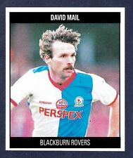 ORBIS 1990 FOOTBALL COLLECTION-#D53-BLACKBURN ROVERS-DAVID MAIL