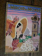 Le Miroir du monde numéro spécial Paques 1930