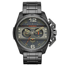 DIESEL Uhr DZ4363 IRONSIDE Herren Chronograph Edelstahl Grau Armbanduhr NEU