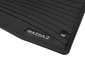Original Mazda 2 DJ1 Allwetter-Matten Fussmatten DADT-V0-350