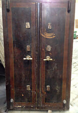 cassaforte antica 1800 ferro/legno safe ancient iron/wood chiave/key original